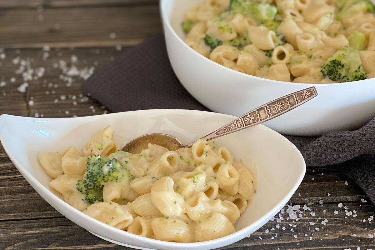 Mac and Cheese mit Broccoli