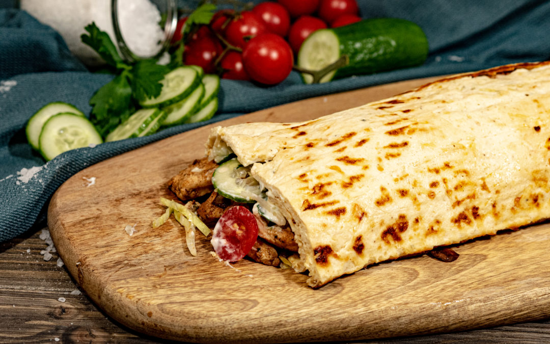 Low Carb Gyros Rolle