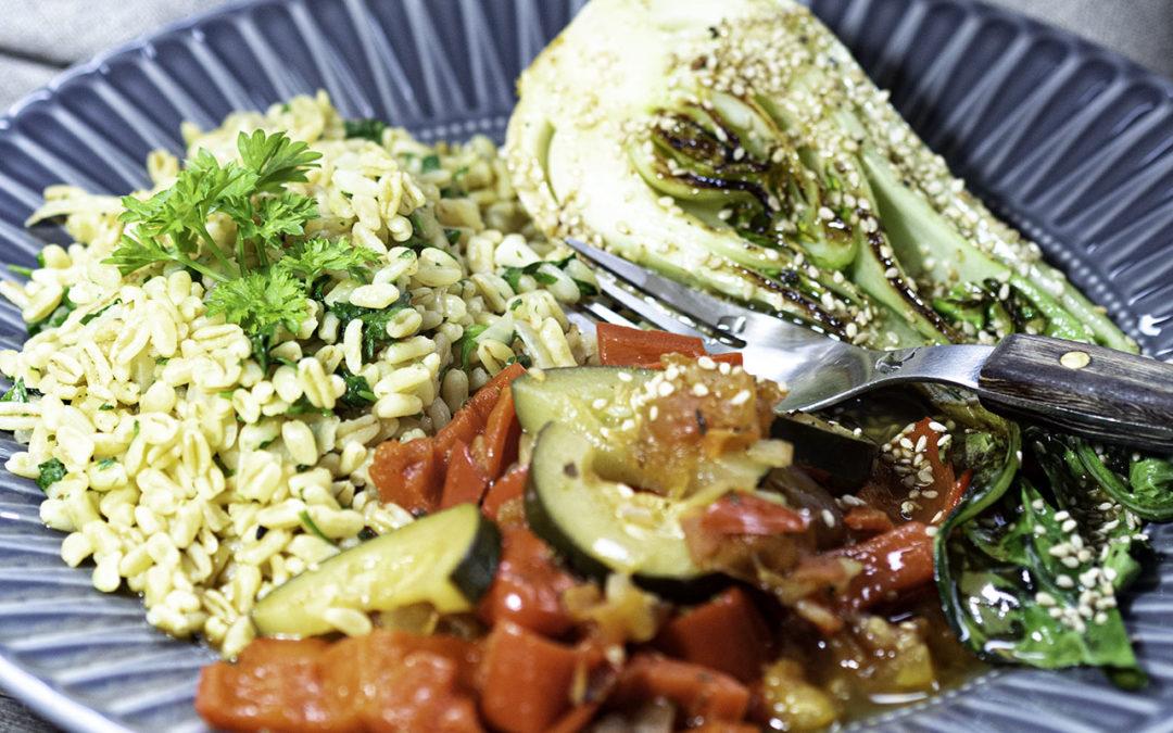 Ratatouille mit Petersilien-Ebly